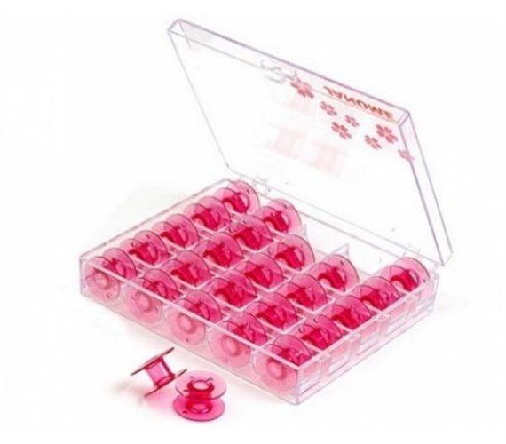 Caja Plástica Cherry con 25 bobinas