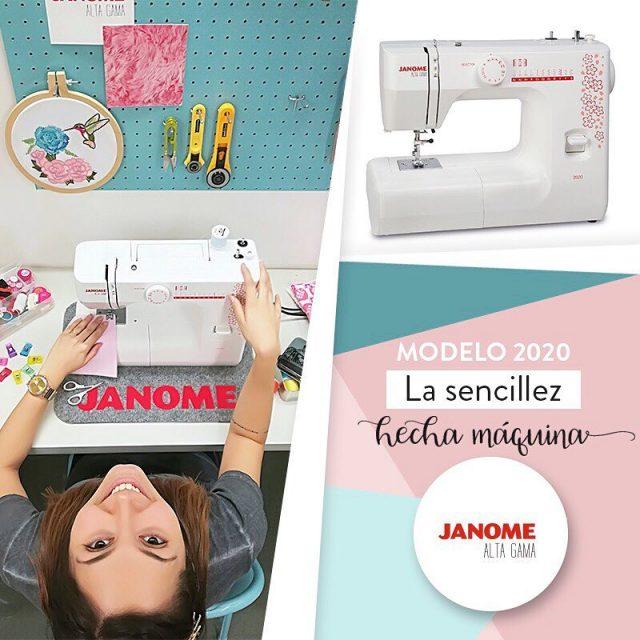 Te presentamos la nueva Janome Alta Gama 2020 La sencillezhellip